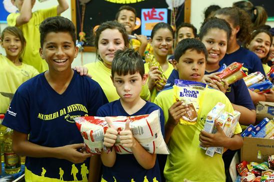 Entrega de Alimentos – Londrinense